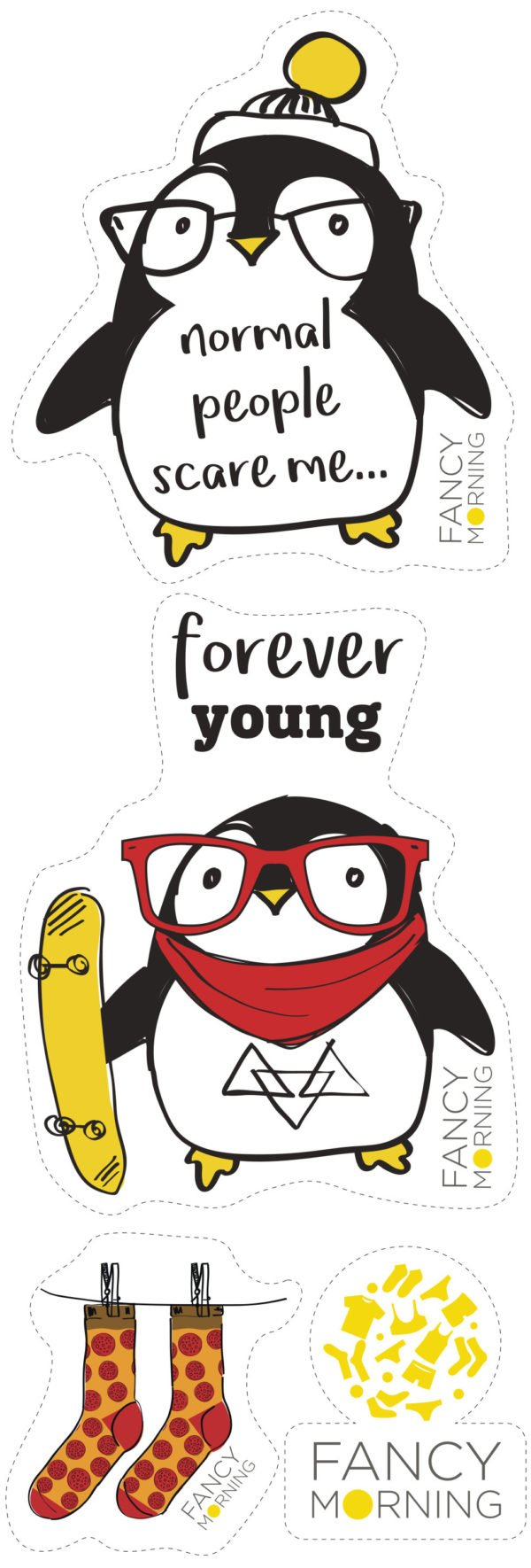 Стикеры Forever young